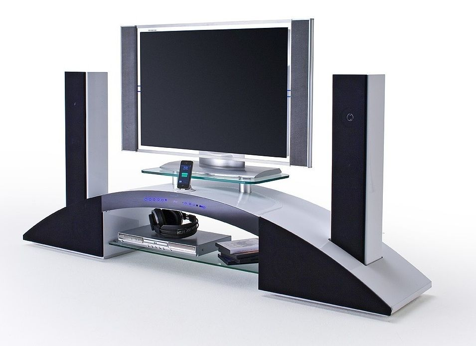 Notavel Patrao Pressa Meuble Tv Avec Enceinte Integre Conforama Tatosbotao Com