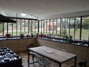 Aménager une cuisine dans une véranda